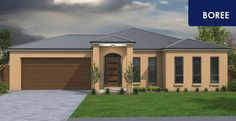 The Boree. Available with a choice of 3 Facades and Silver, Gold or Platinum Inclusions. Our homes can be modified to your requirements or let us design one to suit your lifestyle.