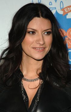 Laura Pausini. Italian pop singer/songwriter.