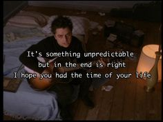 """""""Good Riddance (Time Of Your Life)"""" — Green Day 