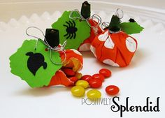Easy Crafts for Halloween {Lifestyle Crafts} | I Heart Nap Time - How to Crafts, Tutorials, DIY, Homemaker