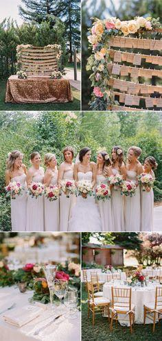 Southern Inspired California Summer Wedding