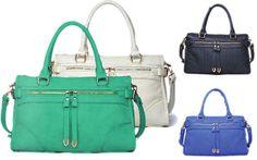 Urban Expressions Handbag Jules on SALE $64.99 & FREE SHIPPING - ENDS Monday 3/10/2014.  #urbanexpressionshandbagssale #urbanexpressionsbagssale #Urbanexpressionsjules #BagMadness