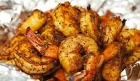 Grilled Shrimp with Smoky Barbecue Rub