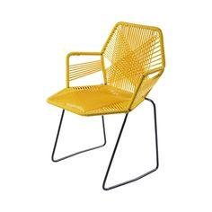 Descripción La estructura de la silla tipo Acapulco está fabricada de acero y PVC de alta resistencia. Disponible en Varios colores. Color Varios Colores Mater
