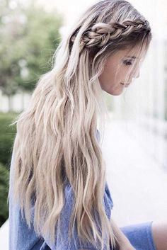 Dutch braids & long hair = perfect comb <3 via @erinelizabethh