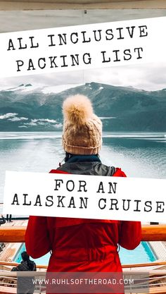 Cruise essentials for an Alaskan cruise! All inclusive packing list & packing tips for a cruise. Alaska cruise clothes to be prepared. Cruise tip, cruise tricks & cruise hacks to do an Alaskan cruise Packing For Alaska, Alaska Cruise Tips, Alaska Travel, Juneau Alaska, Cruise Checklist, Packing List For Cruise, Travel Packing, Weekend Packing, Shopping Travel