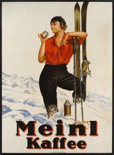 Berlin German Cafe Coffee Germany German Travel 16X20 Vintage Poster FREE SH