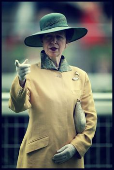 one more blog about royals | Princess Anne attends Ascot Races, July 27, 2013.