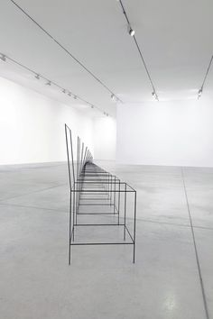 The Birth of A Chair - Ron Gilad (2009) Shown at 'Ron Gilad: The Logical, the Ironic and the Absurd'. Tel Aviv