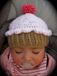 lil' sweety cupcake hat - lil' sweety not included  : )