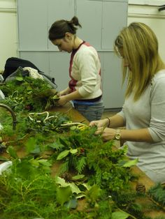Our Christmas wreath making class was super popular.  http://www.belhavenfruitfarm.co.uk/the-store.aspx