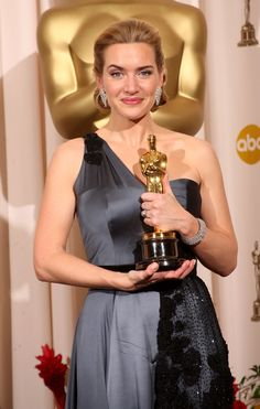 Kate Winslet - The Reader. Best Actress Winner, The Oscars. Hollywood Actor, Hollywood Actresses, Actors & Actresses, Hollywood Style, Hollywood Icons, Academy Award Winners, Academy Awards, Oscar Academy, British Actresses
