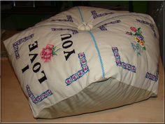 Poduszka ozdobna biscornu