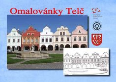 omalovánky česká domy - Google Search Easter, Mansions, House Styles, Google, Home Decor, Decoration Home, Manor Houses, Room Decor, Easter Activities