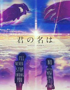 """Kimi No Na Wa, not ghibli but supposedly is created by the the """"new miyazaki"""" Manga Comics, Anime Love, Mitsuha And Taki, Kimi No Na Wa Wallpaper, Manga Anime, Your Name Quotes, Your Name Anime, Hotarubi No Mori, Sad Movies"""