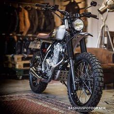 #Honda #nx650 #tracker #scrambler