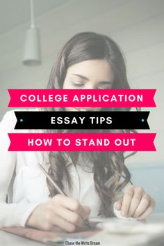College application essay tips to help you stand out from the rest. High school students applying to college often need to write a personal statement or essay to gain admission. These tips will make sure you write your best work yet! College Admission Essay, College Essay, College Fun, Education College, College Tips, College Binder, Types Of Education, Education Requirements, College Application Essay