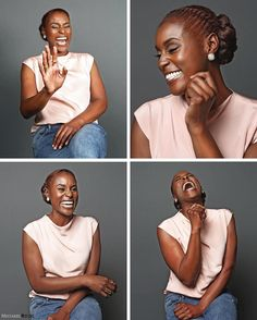 Tag + Share Issa Rae continues to show the versatility of natural hair on the show as well as in all her press. Rocking her TWA, proudly but not afraid to switch it up with cornrows, extensions, and/or twisted updos. The hairstylist behind these looks is celebrity natural hairstylist, Felicia M. Leatherwood. Check the 10 Times Insecure's Issa Rae Slayed the Natural Hair Game: http://nathairrul.es/2gNOSnr