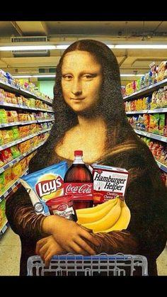 15 versões da Mona Lisa que Leonardo da Vinci nunca imaginou Pop Art Wallpaper, Funny Phone Wallpaper, Mona Lisa Drawing, Mona Lisa Smile, Mona Lisa Parody, Art Memes, Arte Pop, Art Lesson Plans, Surreal Art