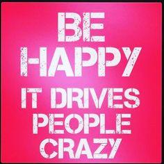 ❤️ Be happy today!