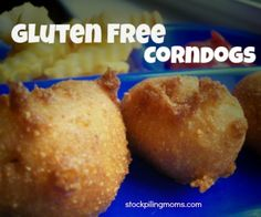 Gluten Free Corndogs are my kids favorite lunch! I love how easy they are to make and better for him than store bought!