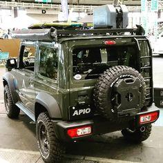 ken inoueさんはInstagramを利用しています:「#新型ジムニー #フロントランナー #ジムニー #JB74 #ジムニーリアラダー #リアラダー #ロトパックス #ROTOPAX #アピオ #アピオジムニー #apio #apiojimny」 Suzuki Jimny Off Road, New Suzuki Jimny, Jimny 4x4, Jimny Sierra, Suzuki Cars, Expedition Vehicle, Jeep Cars, Jeep Wrangler Unlimited, Land Rover Defender