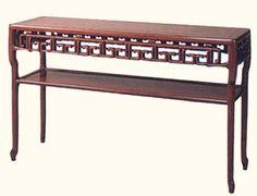 Oriental Furnishings - Carved Oriental Sofa Table With Shelf, $749.00 (http://www.orientalfurnishings.com/carved-oriental-sofa-table-with-shelf/)