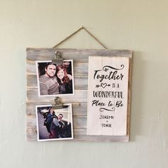 A personal favorite from my Etsy shop https://www.etsy.com/listing/565133109/wood-sign-together-is-a-wonderful-place