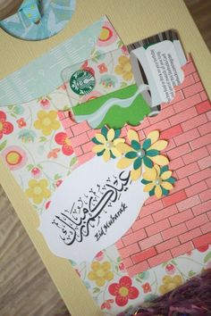 Eid gift card holder Money Envelope Pocket card by NoahScraps, $5.00
