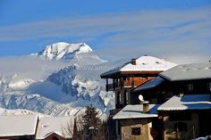 Mont Blanc view from Peisey-Vallandry Alps France photograph picture print photo #montblanc #peiseyvallandry #alps #photooftheday #art
