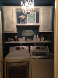"Fantastic ""laundry room storage diy small"" detail is offered on our internet site. Read more and you wont be sorry you did. Small Laundry Rooms, Laundry Room Design, Laundry Area, Laundry Basket, Laundy Room, Laundry Room Remodel, Laundry Closet, Basement Laundry, Laundry Tips"