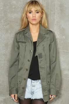Vintage Surplus Army Jacket