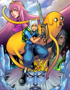 Adventure TIME by ~nekozombie66 on deviantART