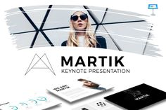 Martik Keynote Presentation Template by Slidedizer on Creative Market
