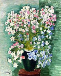 Flowers by Moise Kisling