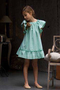 Vestido para niñas ideal para bodas de No sin Valentina (Colección PV 2013) #flowergirl #trajearras #pajes #trajesceremonia #spain