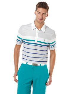 GOLF ENGINEERED STRIPE POLO