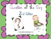 Question of the Day Second Edition product from FirstGradeBlueSkies on TeachersNotebook.com
