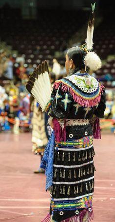 2013 Catawba Pow Wow | by Paul Gowder Native American Regalia, Native American Beading, Dance Outfits, Dance Dresses, Catawba Indians, Jingle Dress Dancer, Powwow Regalia, Ribbon Skirts, Contemporary Dresses