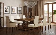 Переговорная Бидермейер: интерьер, офис, администрация, переговорная комната, классика, ампир, неогрек, палладианство, 20 - 30 м2 #interiordesign #office #administration #meetingroom #classicism #20_30m2 arXip.com
