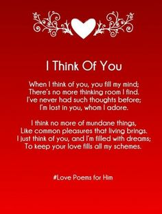 Cute And Sweet Rhyming Love Poems For Him With Images That Is Heart Touching Best Romantic Poetry Your Boyfriend Or Husband To Say I You Do