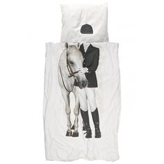 Snurk | Horse Single Duvet & Pillowcase Set | Hurn and Hurn