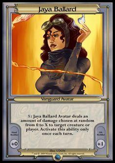 Other - Vanguard MTGO 2 - Jaya Ballard, Task Mage