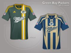 Check Out These Awesome NFL Jerseys Re-Imagined As Soccer Uniforms.  IgualesEquipo De FútbolCamisasUniformes ... e3cd70e3514