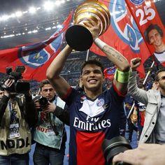 Thiago Silva  Psg  Ligue 1 champions