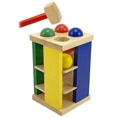 Melissa & Doug Pound and Roll Tower.Opens in a new window