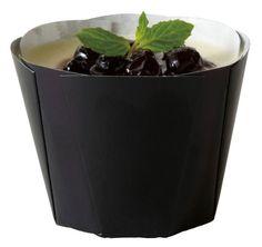 MB75カラーチューリップ(ブラック)50枚マフィンカップ・マフィン型・ベーキングカップ・紙製・焼型・ケーキカップ・ギフト・プレゼント・お菓子作り・手作り・製菓用品