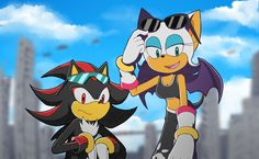 Appearing more angry jackals Hedgehog Art, Shadow The Hedgehog, Sonic The Hedgehog, Shadow And Rouge, Rouge The Bat, Sonic Heroes, Sonic Fan Characters, Sonic And Shadow, Sonic Fan Art