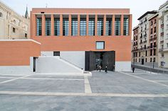 Rafael Moneo, Thomas Mayer · The Prado Extension Prado, Régionalisme Critique, Contemporary Architecture, Interior Architecture, The Cloisters, Unique Buildings, Famous Architects, Brick Building, Surface Area