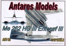 ant4838/ ANTARES - Me 262 HG III Entwurf III - Resin - 1/48 - SELTEN